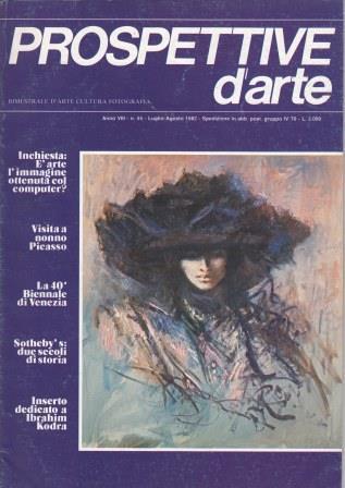 Prospettive d'arte - Anno VIII - n. 55, luglio-agosto 1982