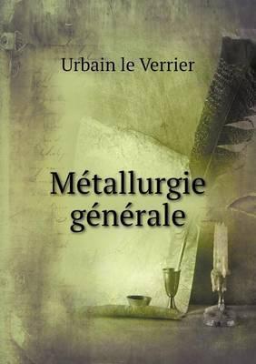 Metallurgie Generale