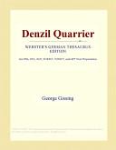 Denzil Quarrier (Webster's German Thesaurus Edition)