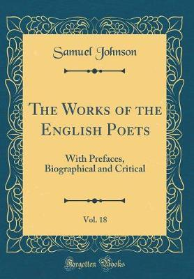 The Works of the English Poets, Vol. 18