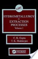 Hydrometallurgy in Extraction Processes, Volume I