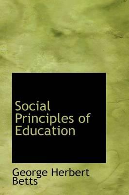 Social Principles of Education