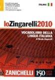 Lo Zingarelli 2010. Vocabolario della lingua italiana