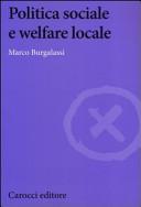Politica sociale e welfare locale