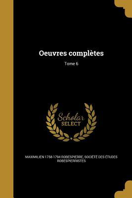 FRE-OEUVRES COMPLETES TOME 6