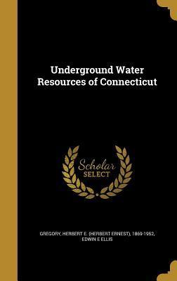 UNDERGROUND WATER RESOURCES OF