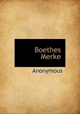 Boethes Merke