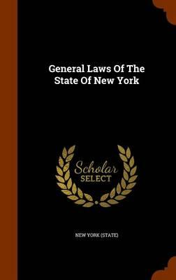 General Laws of the State of New York