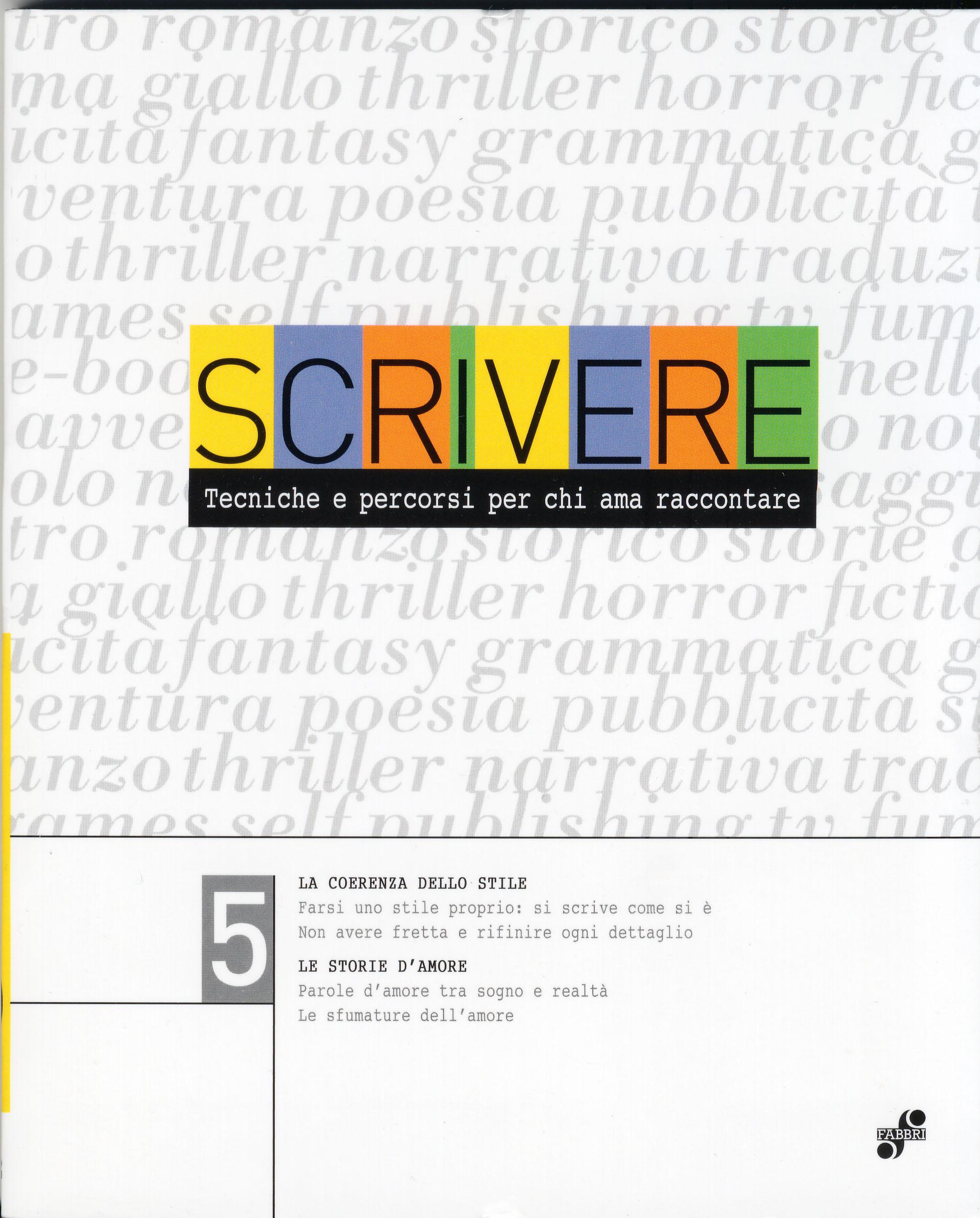 Scrivere - vol. 5