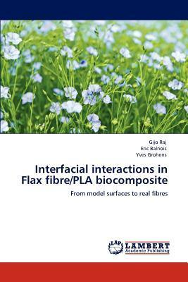 Interfacial interactions in Flax fibre/PLA biocomposite