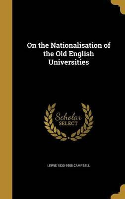 ON THE NATIONALISATION OF THE