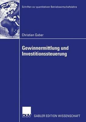 Gewinnermittlung Und Investitionssteuerung