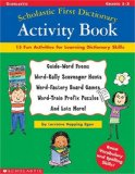 Scholastic First Dictionary Activity Book