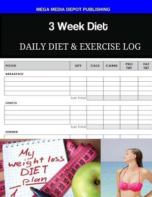 3 Week Diet Daily Di...