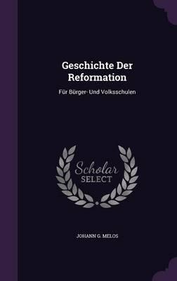 Geschichte Der Reformation