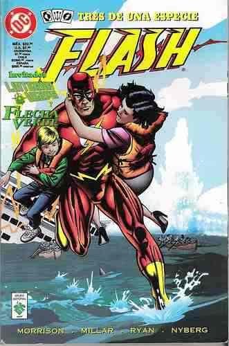 Flash: tres de una e...