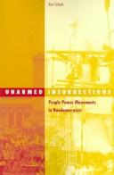 Unarmed insurrections