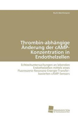 Thrombin-abhängige Änderung der cAMP-Konzentration in Endothelzellen