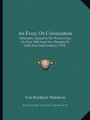 An Essay on Colonization