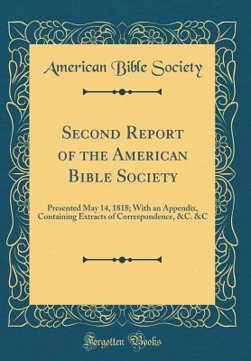 Second Report of the American Bible Society