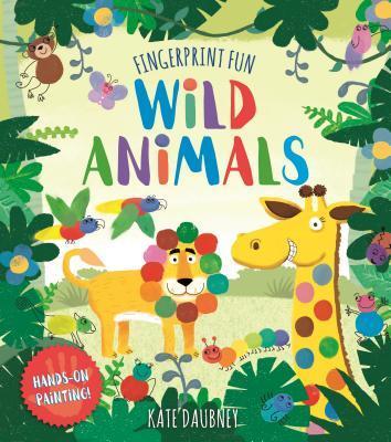 Fingerprint Fun Wild Animals