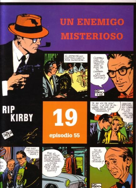 Rip Kirby #55: Un enemigo misterioso