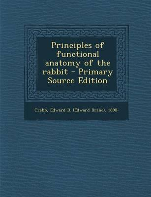 Principles of Functional Anatomy of the Rabbit