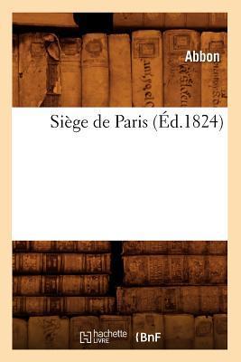 Siege de Paris (ed.1824)