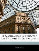 Le Naturalisme Au Théâtre