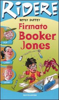 Firmato Booker Jones