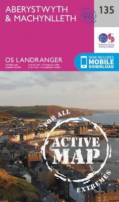Landranger Active (135) Aberystwyth & Machynlleth