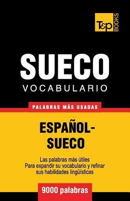 Vocabulario español-sueco - 9000 palabras más usadas
