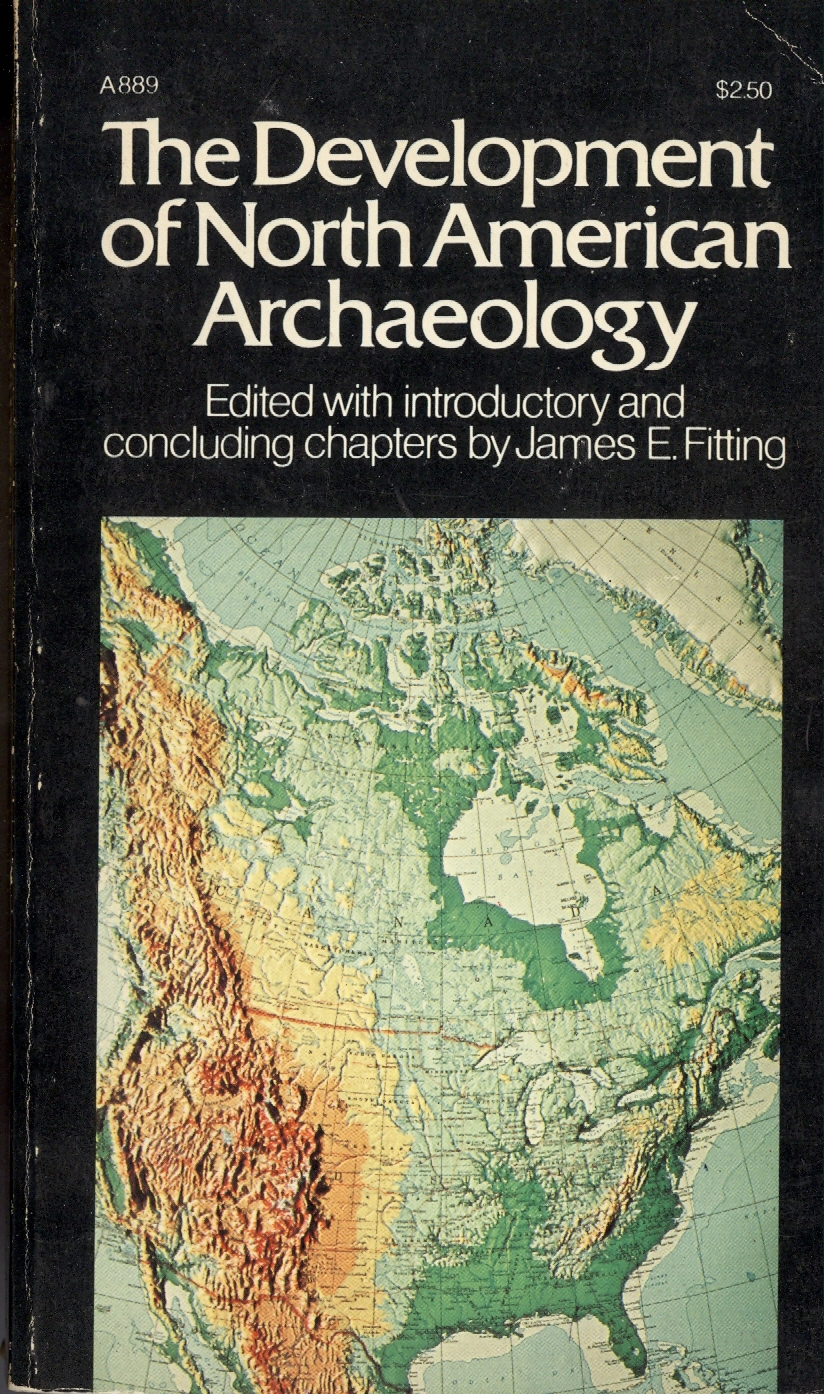 The development of North American archaeology