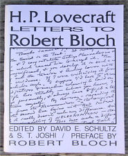 Letters to Robert Bloch