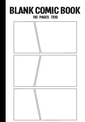 Blank Comic Strips Book