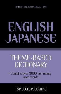 Theme-based dictionary British English-Japanese - 9000 words
