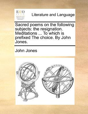 Sacred Poems on the Following Subjects