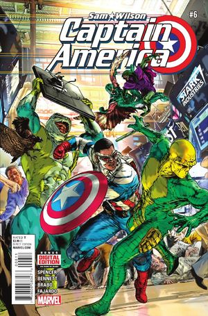 Captain America: Sam Wilson Vol.1 #6