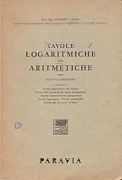 Tavole logaritmiche ed aritmetiche