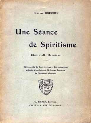 Une séance de spiritisme chez J.-K. Huysmans