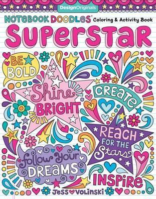 Notebook Doodles Superstar