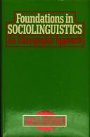 Foundations of Sociolinguistics
