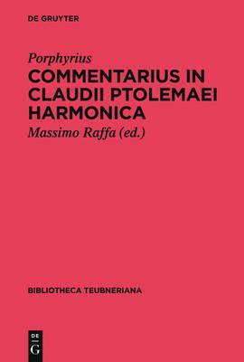 Commentarius in Claudii Ptolemaei Harmonica