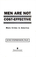 Men are not cost-effective