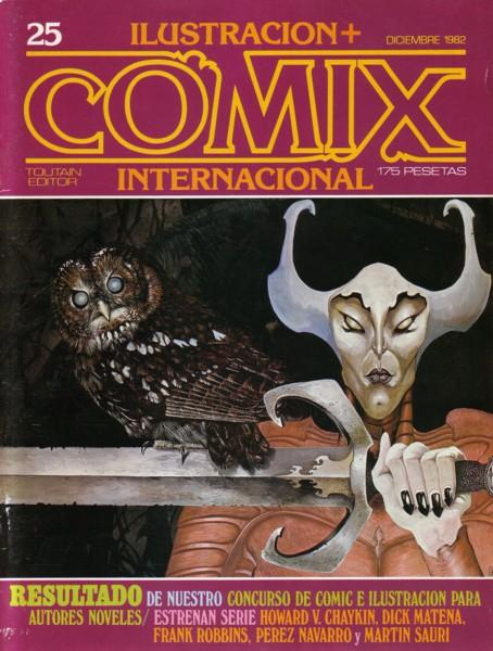 Ilustración + Comix...