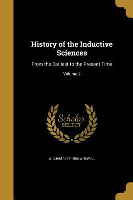 HIST OF THE INDUCTIVE SCIENCES