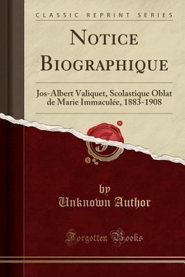 Notice Biographique