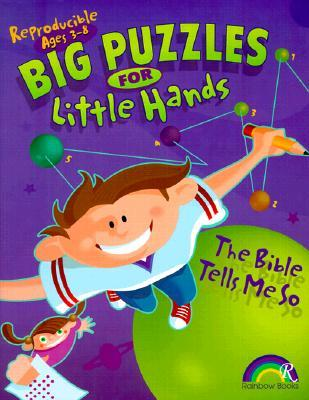 Big Puzzles for Little Hands Bible Tells ME So