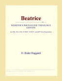 Beatrice (Webster's Portuguese Thesaurus Edition)