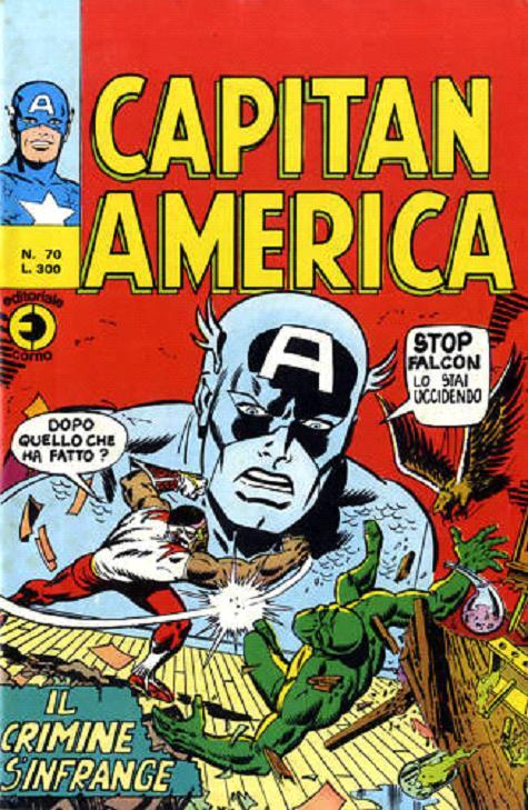 Capitan America n. 70